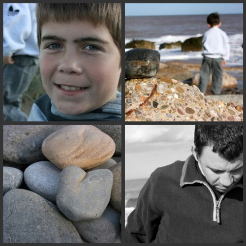 Beach collage 1