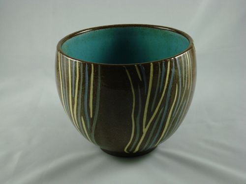 Inlaid bowl