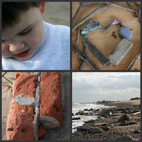 Beach collage 4