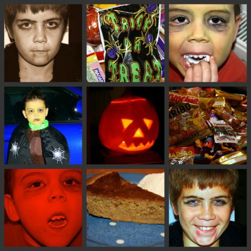 Halloween 09 collage