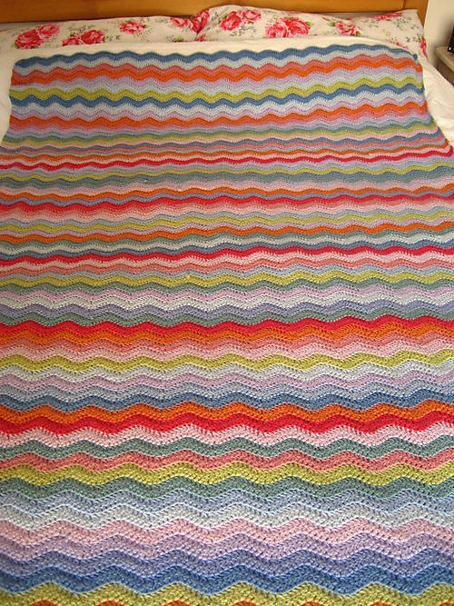 Attic24 ripple blanket