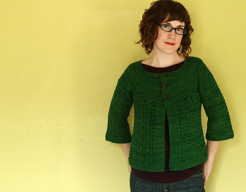 Feb lady sweater flint knits