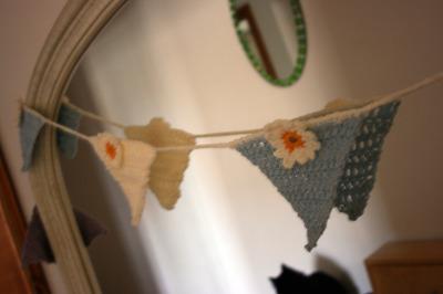 Crochet bunting 3