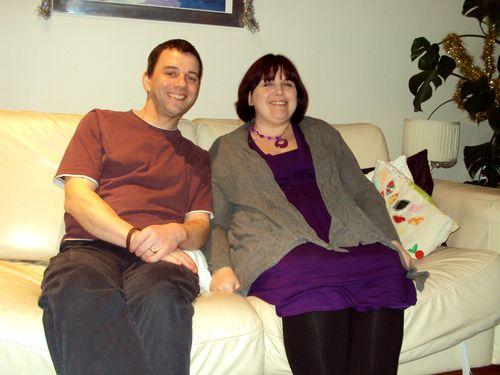 Claire Boynton and Dominic Boynton (husband) 2011